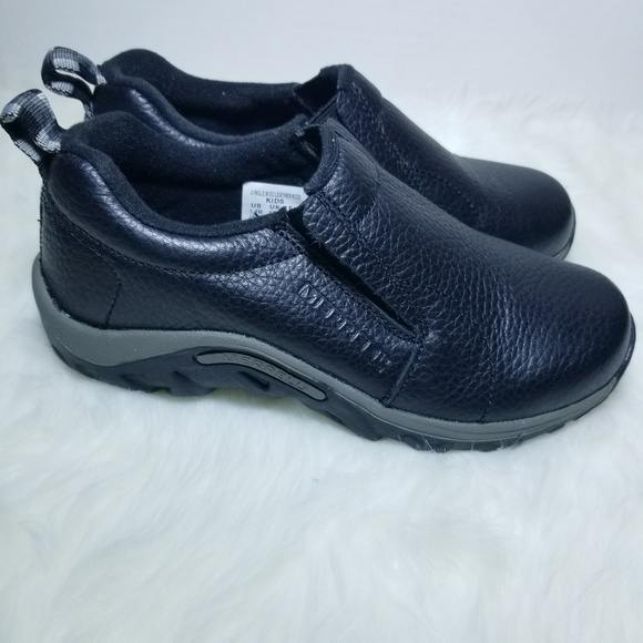 merrell Other - MERRELL Moc Leather Kids Shoes Size 1.5 M